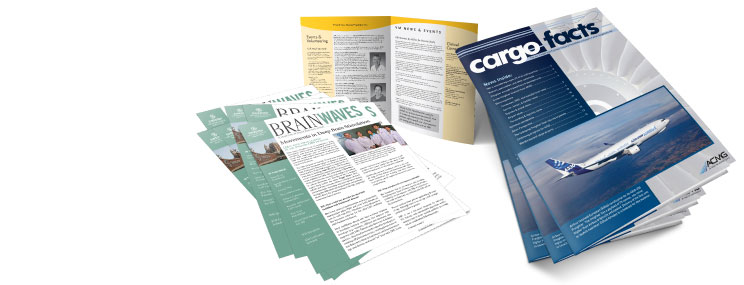 Sample Newsletter and Flyer Printing