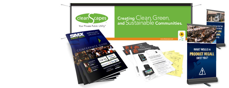 Sample Convention and Trade Show Materials