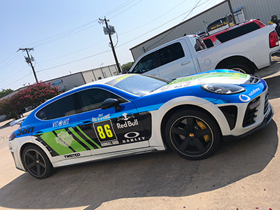 Car Wraps and Vehicle Graphics