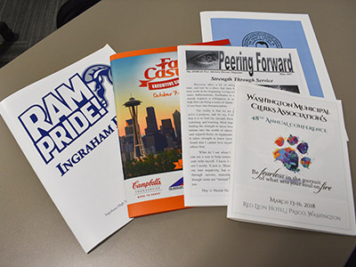 newsletters and flyers printing